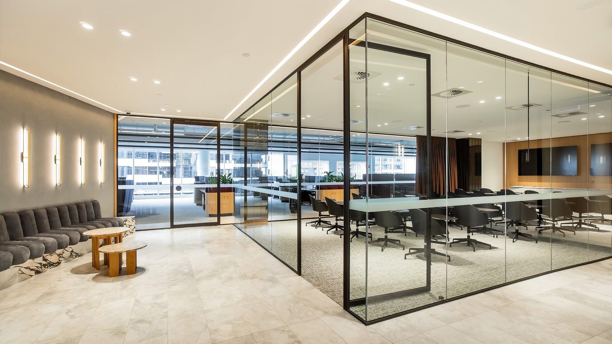 Glass Partition Walls Melbourne