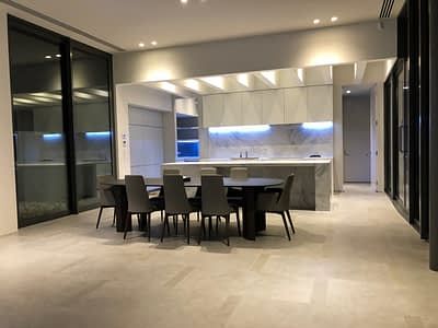 custom made kitchen Marble Benchtops in imperite 2 pack painted doors and panels hidden fridge cupboard