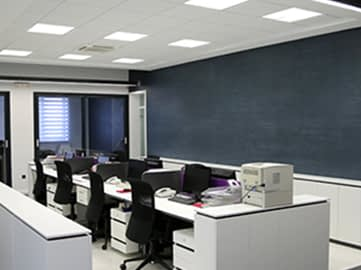 Workstations | Suspended Ceiling